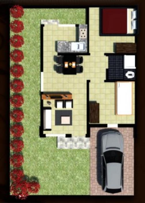 InArtha Residence Tipe 45 rumah murah di balikpapan